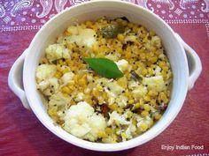 cauliflower upkari {stir fry}