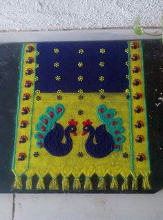 House sketch art new Ideas Easy Rangoli Designs Videos, Rangoli Designs Latest, Rangoli Designs Images, Rangoli Designs Diwali, Diwali Rangoli, Beautiful Rangoli Designs, Mehndi Designs, Rangoli Patterns, Rangoli Ideas