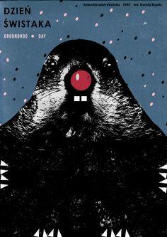 Grundhog Day / 1993 / movie poster