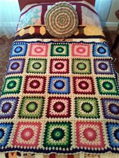 Sunburst Granny Afghan - Media - Crochet Me