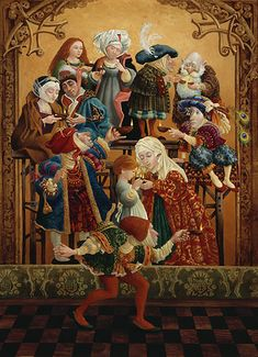 Sharing Our Light - Unconventional LDS Art by James Christensen. More at http://www.jameschristensen.com/prints.htm#prints