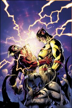 Flash and Professor Zoom by Andy Kubert & Sandy Hope