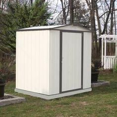 10 Ft W X 12 Ft D Storage Shed Kit Metal Storage Sheds Shed Outdoor Storage Sheds
