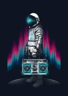 música lunar