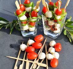 Tomate Mozzarella Sticks - Kochen aus Liebe