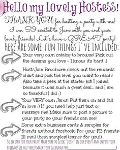 jamberry hostess packet - Google Search