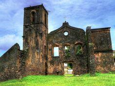 Alcântara, Maranhão, Brasil - ruínas da Igreja de São Mathias