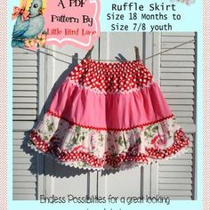Winter Skirt Outfit, Skirt Outfits, Winter Outfits, Little Girl Dresses, Girls Dresses, Girl Skirts, Ruffle Skirt Tutorial, Sewing Terms, Sewing Patterns