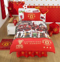 Eat, drink and sleep @ManUtd in your Man Cave...