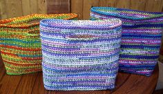 Gift bags that keep on giving, free pattern