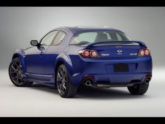 Mazda RX8. Rotary engine allows it to run at up to 9,000 RPM and it's cute!