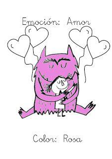¿Qué puedo hacer hoy?: Emociones de colores V: Rosa-Amor