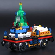 LEPIN 36001 Winter Holiday Train LegoINGlys 10254 Holiday Train, Winter Holidays, Toys, Activity Toys, Toy