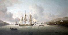 THE BATTLE OF ST. VINCENT, 14 FEBRUARY(1797) CHARLES MARTIN POWELL www.wikiart.org