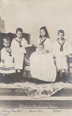 Children of Arch Duchess Marie Valerie of Austria, daughter of Emperor Franz Josef I. | Flickr - Photo Sharing!