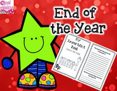 Secondgradealicious: End of the Year! YIPEE