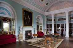 The library or 'Great Room' at Kenwood