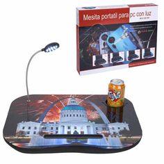 Práctica mesa portátil multiusos.  http://www.cosaspararegalar.es/ideas-para-regalar/regalos-practicos/mesas-tablet/mesa-pc-casa-blanca.html
