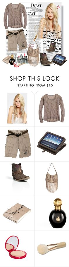 """""""RODEO DRIVE"""" by alunaria ❤ liked on Polyvore featuring Urban Outfitters, J.Crew, Scotch Shrunk, Mulberry, Golden Goose, Lanvin, Bourjois, Bare Escentuals and Rock 'N Rose"""