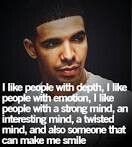 I like people with a strong mind