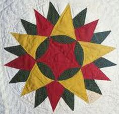 Barbara Brackman's MATERIAL CULTURE: Five Pointed Stars on the Fourth