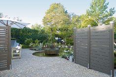 Gardenplaza - Trendige Farbtöne für moderne Fassaden und Zäune aus Holz - Die neue graue Vielfalt im Garten