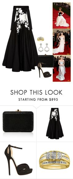 """""""2014 MET Gala - Charles James: Beyond Fashion - Part 3."""" by foreverforbiddenromancefashion ❤ liked on Polyvore featuring Sarah Jessica Parker, Judith Leiber, Naeem Khan and Jimmy Choo"""
