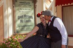 Great moments with Mr Lincoln #disneyside #engagement