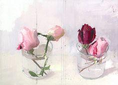 Rosas de invierno by Antonio López García