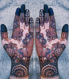 Bridal Henna Mehndi Designs for Full Hands Simple Arabic Mehndi Designs, Henna Art Designs, Stylish Mehndi Designs, Mehndi Designs For Beginners, Mehndi Designs For Girls, Wedding Mehndi Designs, Mehndi Designs For Fingers, Dulhan Mehndi Designs, Beautiful Henna Designs