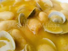 Me sabe a Málaga: Potaje de habichuelas con almejas