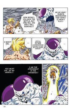 Dragon Ball Full Color - Freeza Arc Chapter 82 Page 7 Dragon Ball Z, 7th Dragon, Goku Manga, Comic Book Template, Manga Pages, Comic Art, Comic Books, Cartoon Art, Illustrations Posters