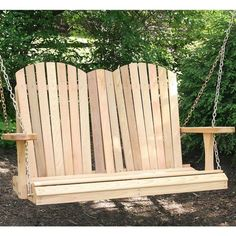 Fashionable wooden porch swing frame that will impress you