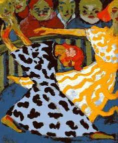 'Dancers' (1920) by Emil Nolde