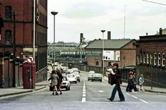 Railway Street, Wolverhampton on Apri The Plymouth - Manchester Piccadilly can be seen leaving the station and passing Broad Street Basin. Wolverhampton Wanderers Fc, Manchester Piccadilly, England Football, Historical Images, The Old Days, Robert Plant, West Midlands, British History, Plymouth