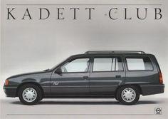 Kadett E / Opel / Mijn brochures O | Autobrochures-a-o.jouwweb.nl