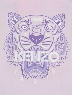 KENZO - TIGER PRINTED LIGHT COTTON TANK TOP - LUISAVIAROMA - LUXURY SHOPPING WORLDWIDE SHIPPING - FLORENCE