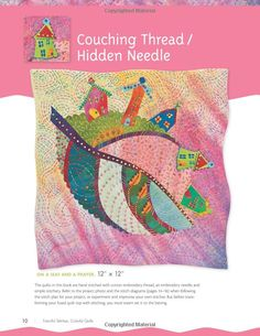 Amazon.com: Fanciful Stitches, Colorful Quilts: 11 Easy Applique Projects to Embroider by Hand (9781607050209): Laura Wasilowski: Books