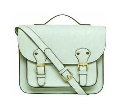 8067e58d93 Dorothy Perkins Mint green satchel bag - on off
