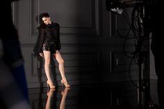 Laetitia Casta pour L'Oréal Paris// Color Riche Le Vernis backstage