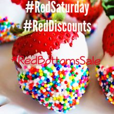 It's WWW.AWESOMEWORLD.CO.UK #RedSaturday   #RedBottoms with 20% OFF  More than 7 #heels on sale!!
