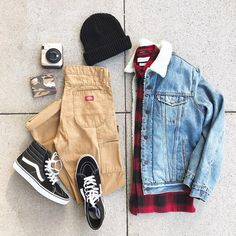 Likes, 37 Comments - Urban Outfitters Men& ( . Swag Outfits Men, Stylish Mens Outfits, Tomboy Outfits, Mode Outfits, Casual Outfits, Men Casual, Fashion Outfits, Fashion Men, Style Fashion