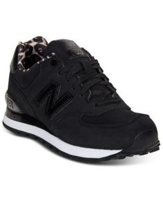 New Balance Women's 574 Sneakers from Finish Line - Black 6