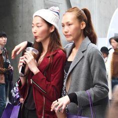 """❤️ 2016 SS Seoul Fashion Week  #miscellalove #miscellani #shopmiscellani #sfw #seoulfashionweek #streetfashion #ootd #korean #fashion #trend #style #models #fall #coats #beanies #coffee #ulzzang #looks #love #韩国时装 #韩国流行 #韩国品牌 #潮服 #流行时尚 #代购 #东大门"""