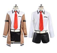 Steins;Gate Kurisu Makise Cosplay Costume