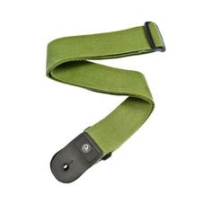 """Planet Waves : Polypropylene Guitar Strap, Green : Green Polypropylene design : Adjustable from 35"""" to 59.5"""" long : Provides maximum comfort for standing situations Strong and secure leather ends : Pattern also available in Planet Lock or Acoustic Quick Release end"""