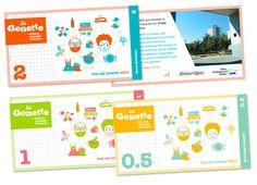 Graphisme et illustration coupon Gonette