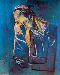 Picasso Blue Period | Art ~ Pablo Picasso *Blue Period | Pinterest ...