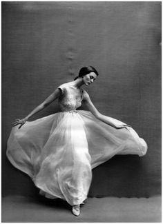 Carmen Dell'Orefice by Richard Avedon 1957