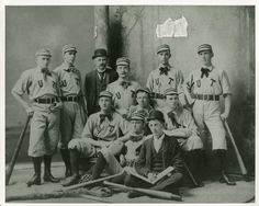 Take me out to the ball game... UT Baseball Team (circa 1892)